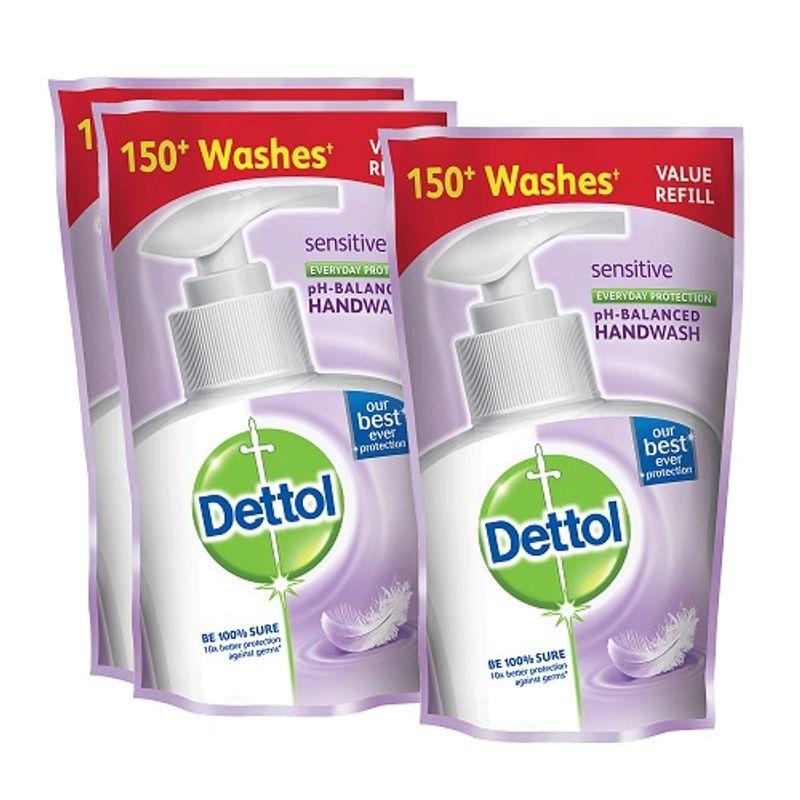 Dettol Sensitive Liquid Hand Wash (175 Ml)(Buy 2 Get 1 Free)(Off Rs.50)