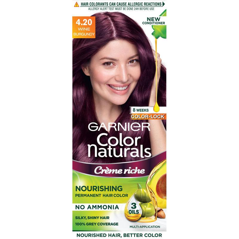 Garnier Hair Color Buy Garnier Color Naturals 420 Wine Burgundy
