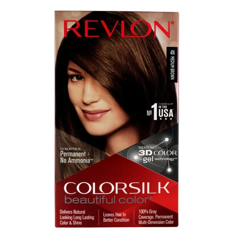 Revlon Colorsilk Hair Color Medium Brown 4N