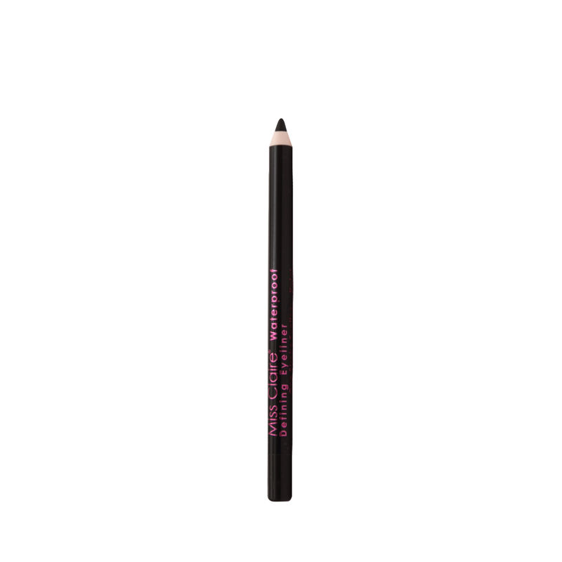 Miss Claire Waterproof Defining One Stroke Eyeliner Kajal - Party Black