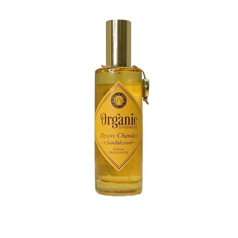 Song Of India Mysore Chandan - Sandalwood Organic Room Spray