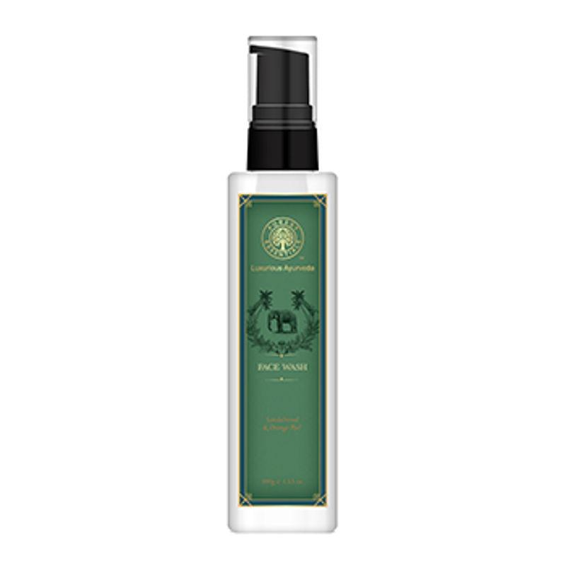Forest Essentials Facial Face Wash Sandalwood & Orange Peel