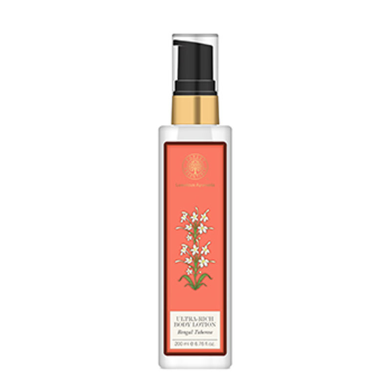 Forest Essentials Ultra-Rich Dazzling Body Lotion Bengal Tuberose