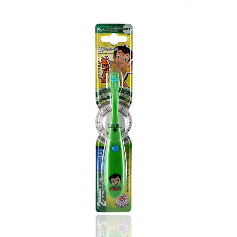 Aquawhite Chhota Bheem Kids Musical Toothbrush - Green
