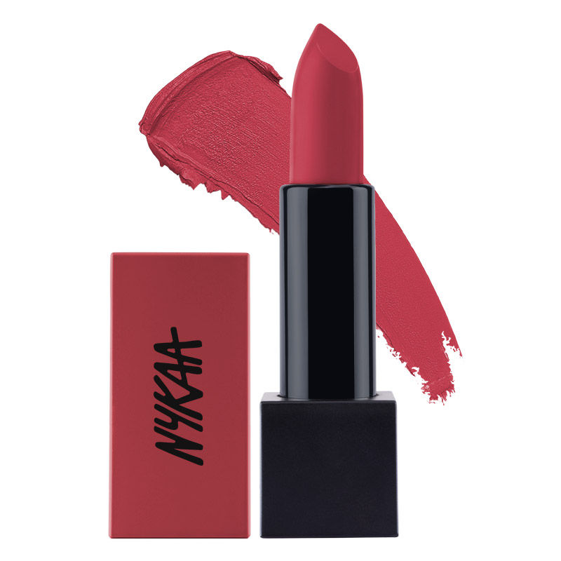 327c29a674 Nykaa Ultra Matte Lipstick - 10 Marilyn at Nykaa.com