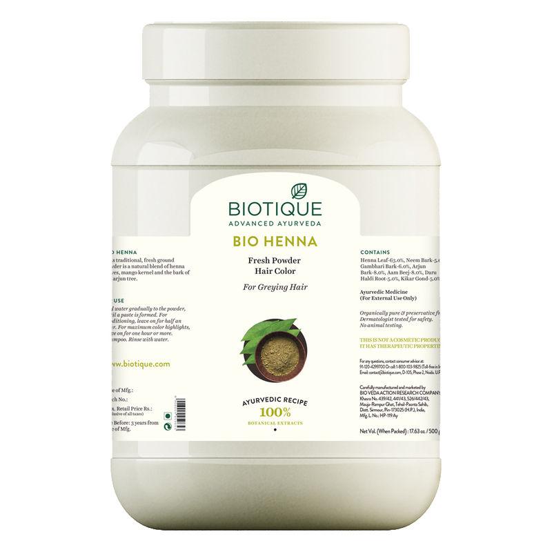 Biotique Hair Color Buy Biotique Bio Henna Fresh Powder Hair Color