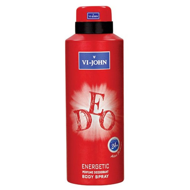 VI-John Energetic Perfume Deodorant Body Spray