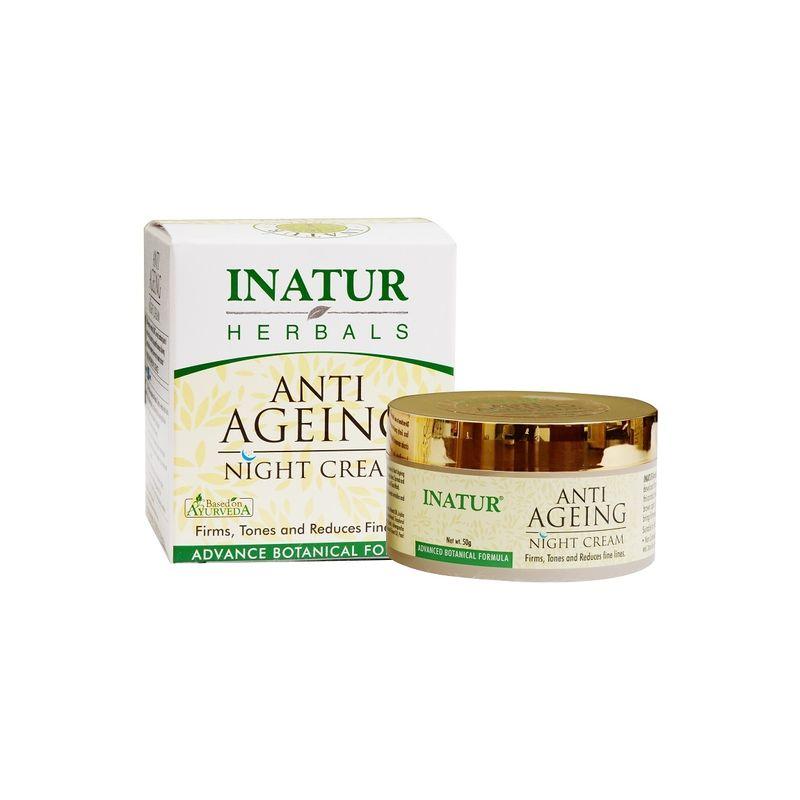 Inatur Anti-Ageing Night Face Cream