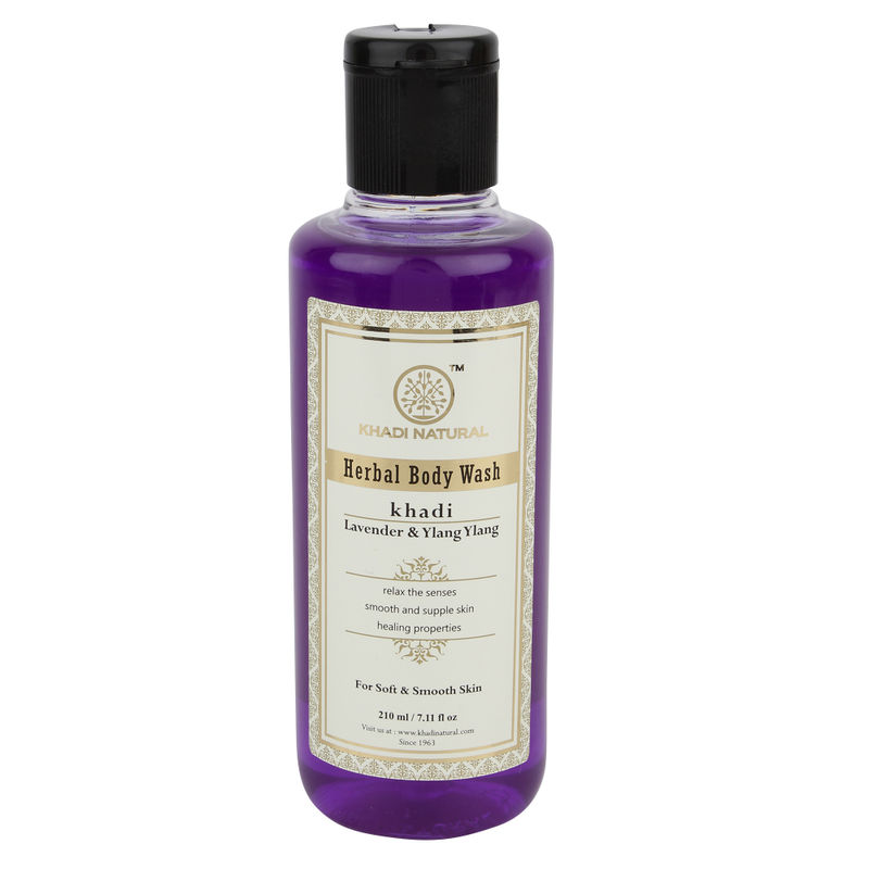 Khadi Natural Lavender & Ylang Ylang Herbal Body Wash