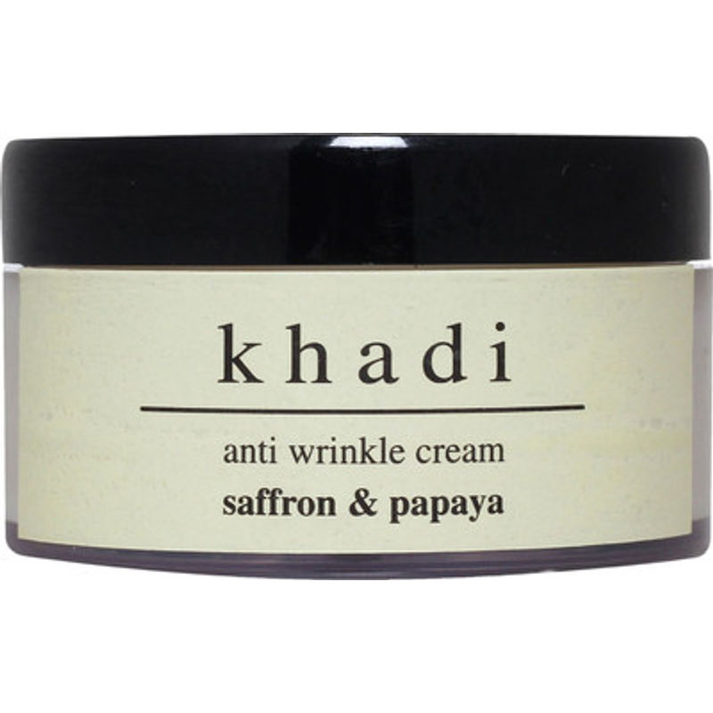 Khadi Natural Saffron Papaya Anti Aging Cream (Anti Wrinkle)