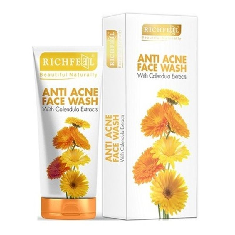 Richfeel Anti Acne With Calendula Extracts Face Wash