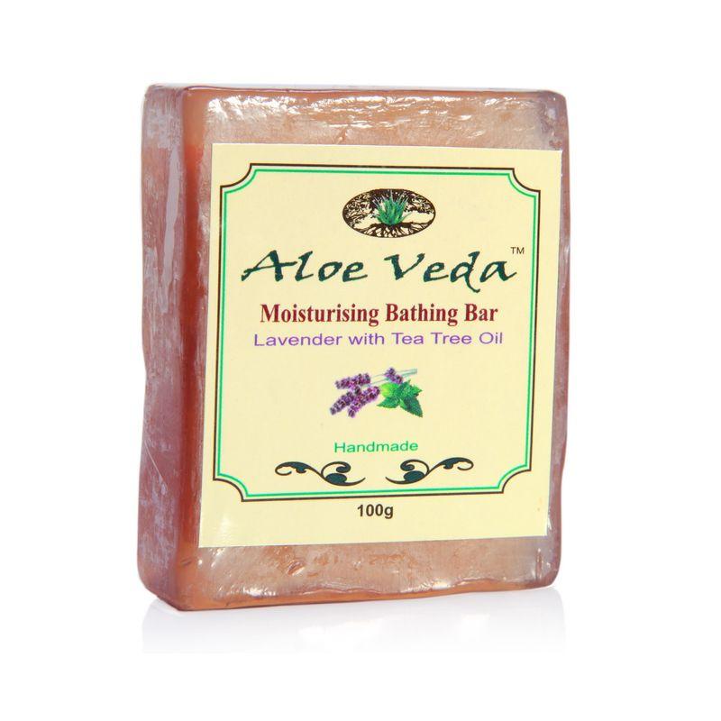 Aloe Veda Moisturising Bathing Bar - Lavender With Tea Tree Oil