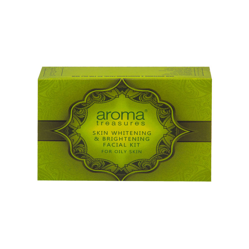 Aroma Treasure Skin Whitening And Brightening Facial Kit For Oily Skin