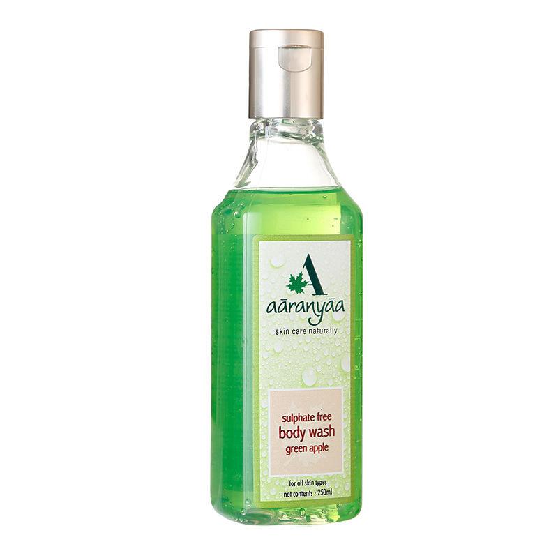 Aaranyaa Sulphate Free Green Apple Body Wash