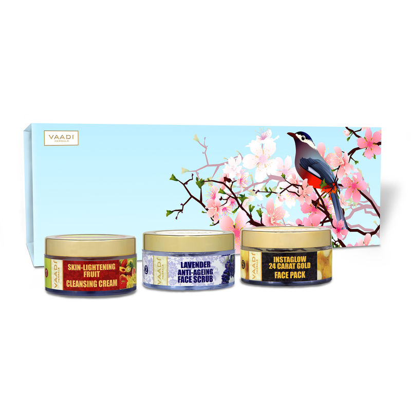 Vaadi Herbals Glamorous Glow Skin Care Herbal Gift Set