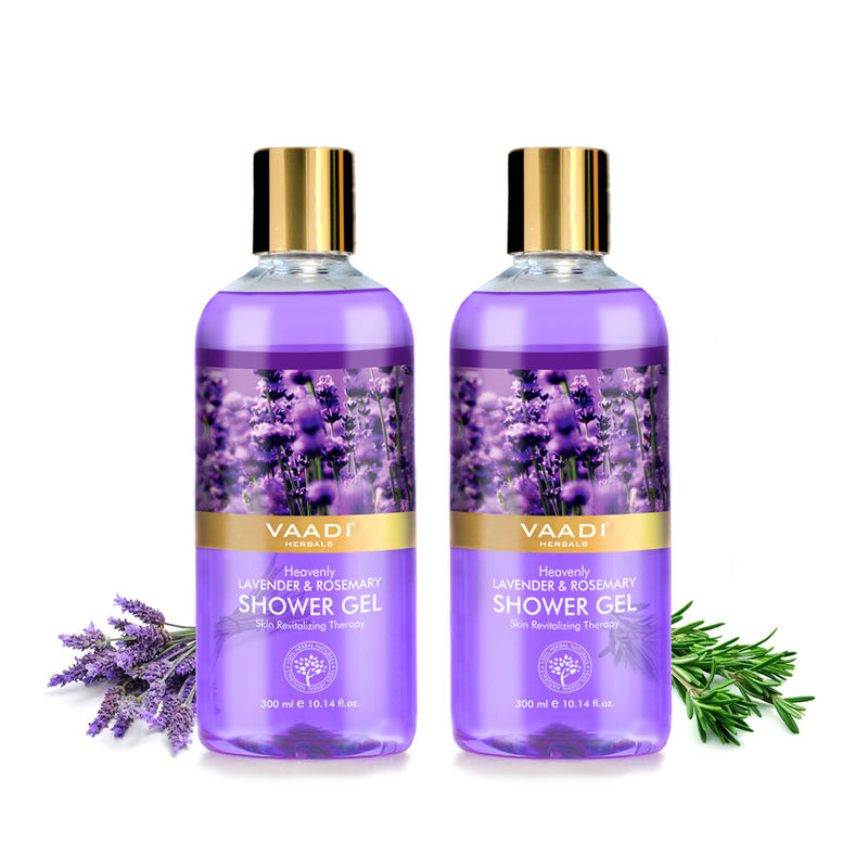 Vaadi Herbals Heavenly Lavender & Rosemary Shower Gel (Pack Of 2)