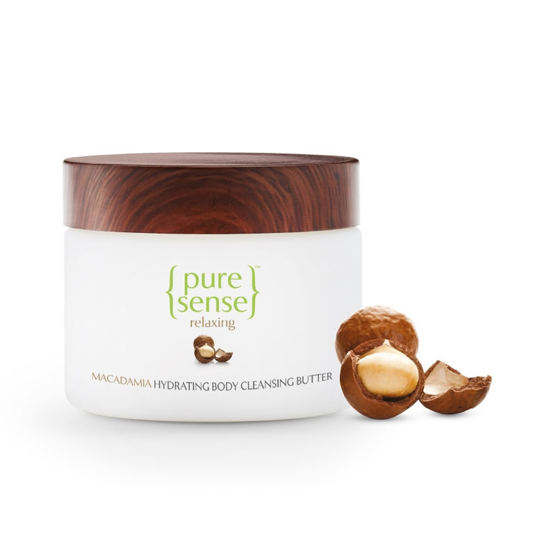 PureSense Macadamia Hydrating Body Cleansing Butter - Sulphate And Paraben Free