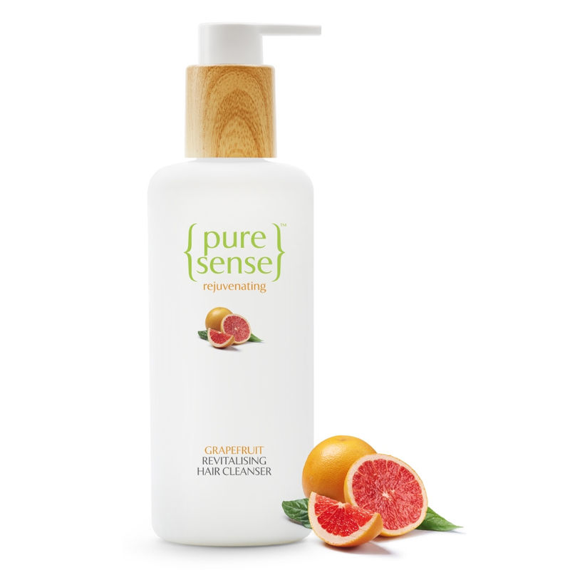 PureSense Grapefruit Revitalising Hair Cleanser - Sulphate And Paraben Free