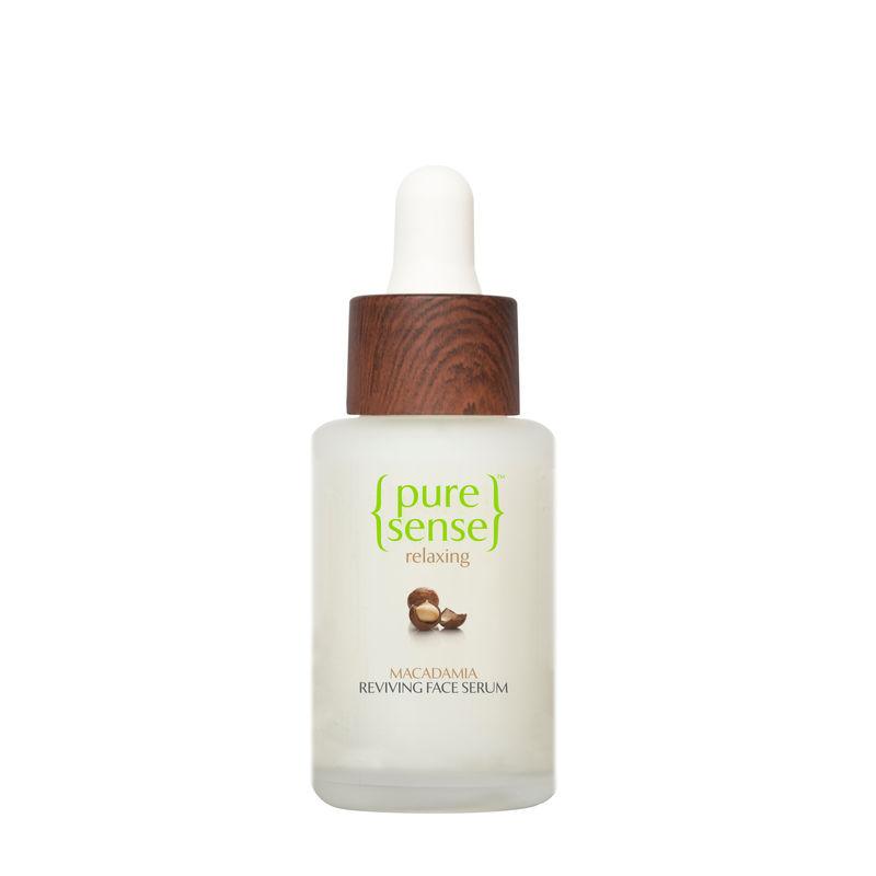 PureSense Macadamia Reviving Anti Ageing Face Serum - Sulphate & Paraben Free