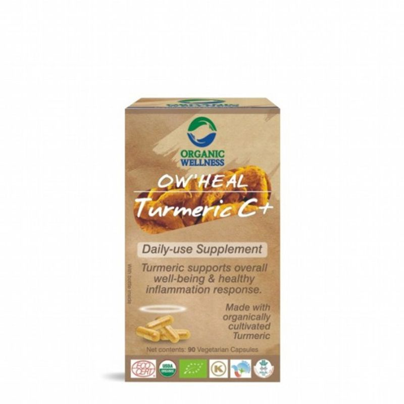 Organic Wellness Heal Turmeric C+ (Daily-Use Supplement)