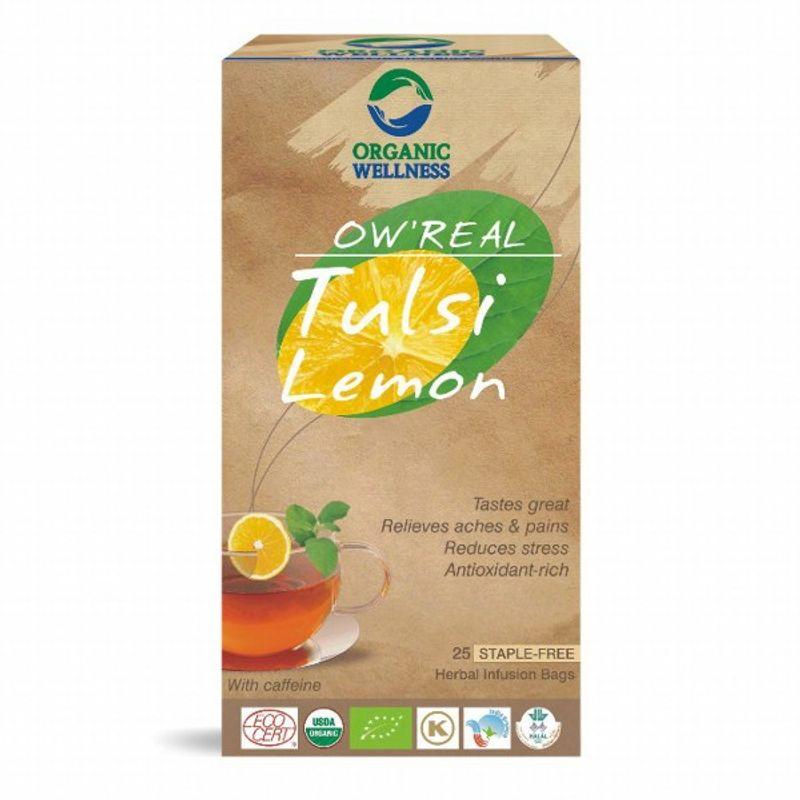 Organic Wellness Real Tulsi Lemon Tea