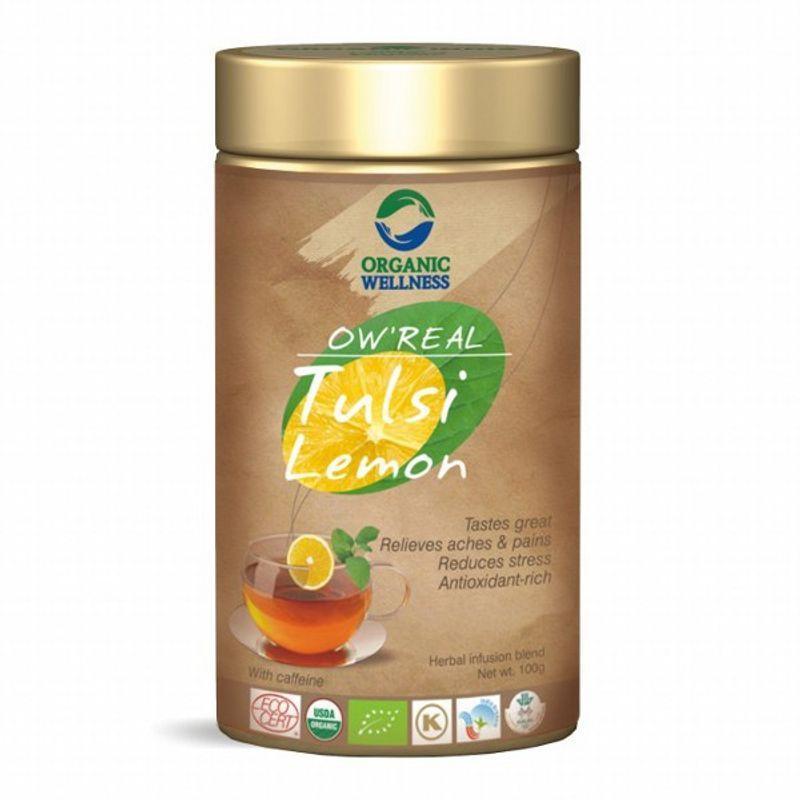Organic Wellness Real Tulsi Lemon Tea Tin