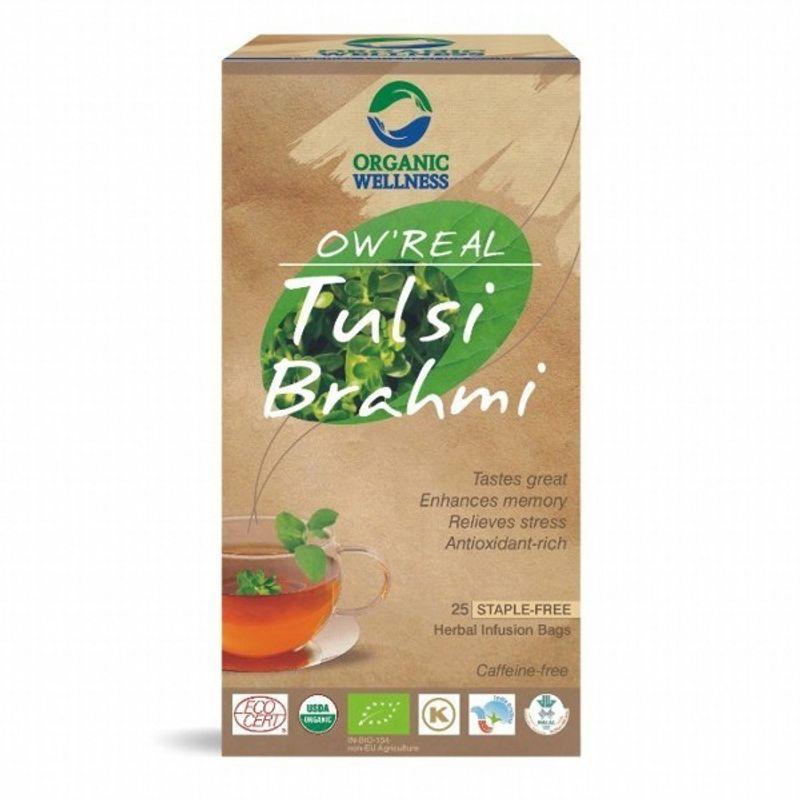 Organic Wellness Real Tulsi Brahmi Tea