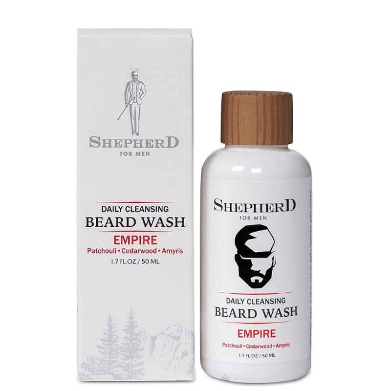 Shepherd For Men Daily Cleansing Beard Wash - Empire