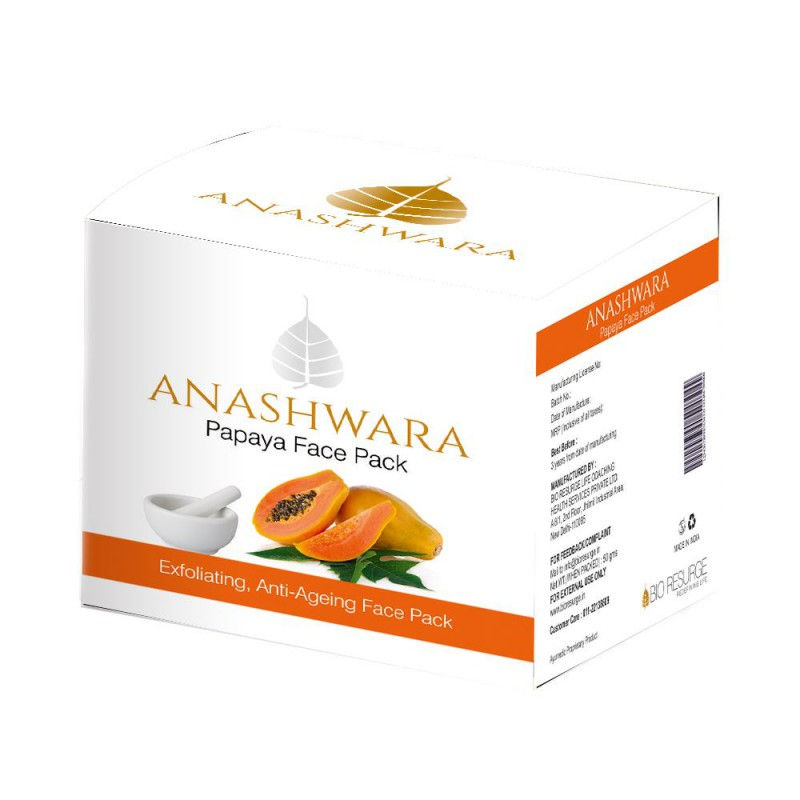 Bio Resurge Anashwara Papaya Face Pack