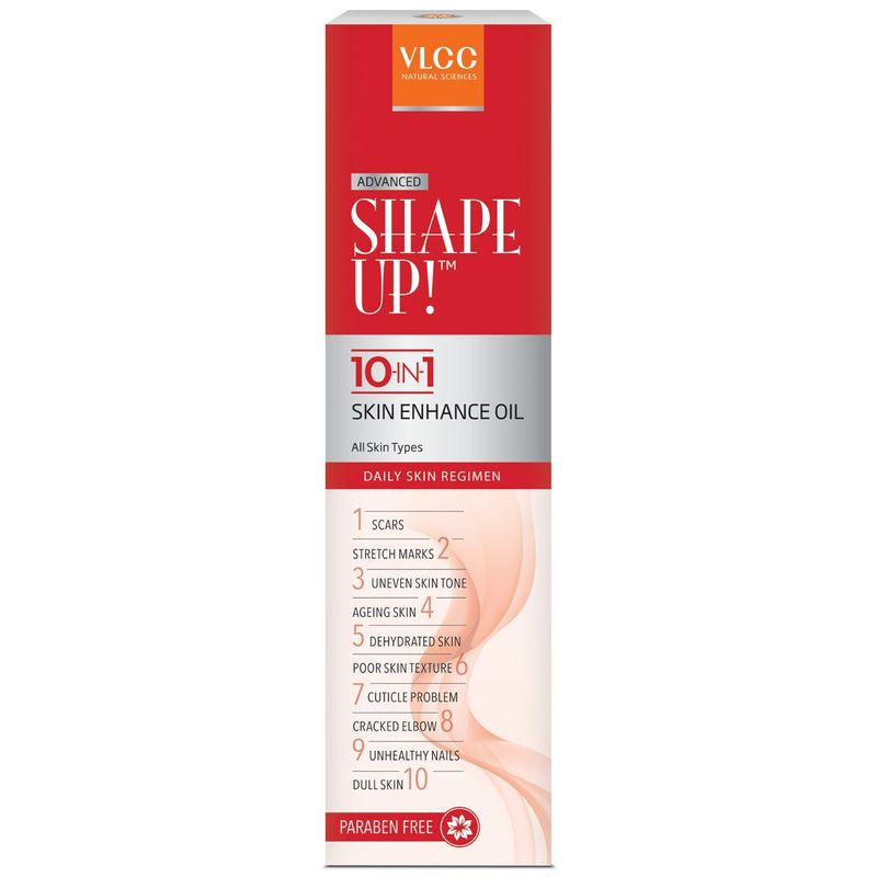 VLCC Shape Up 10-In-1 Oil Skin Enhance Oil