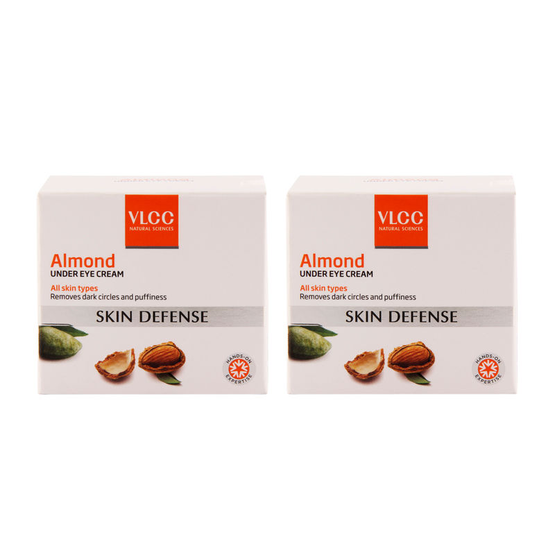 VLCC Almond Under Eye Cream - Pack Of 2