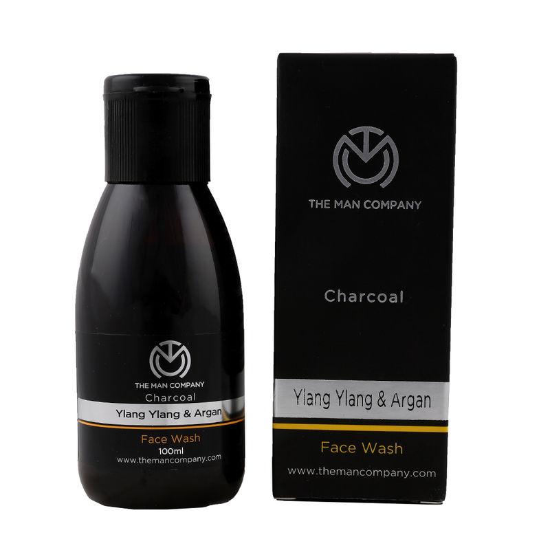 74c04a30139 Buy The Man Company Charcoal Face Wash With Ylang-Ylang & Argan at Nykaa.com