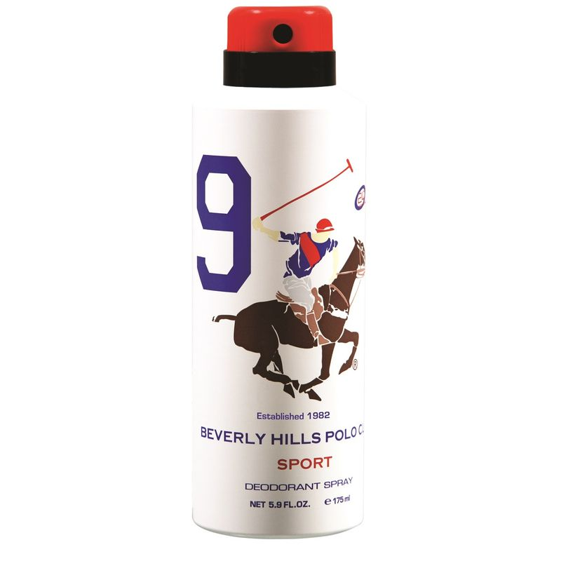 Beverly Hills Polo Club Sport 9 Deodorant Spray