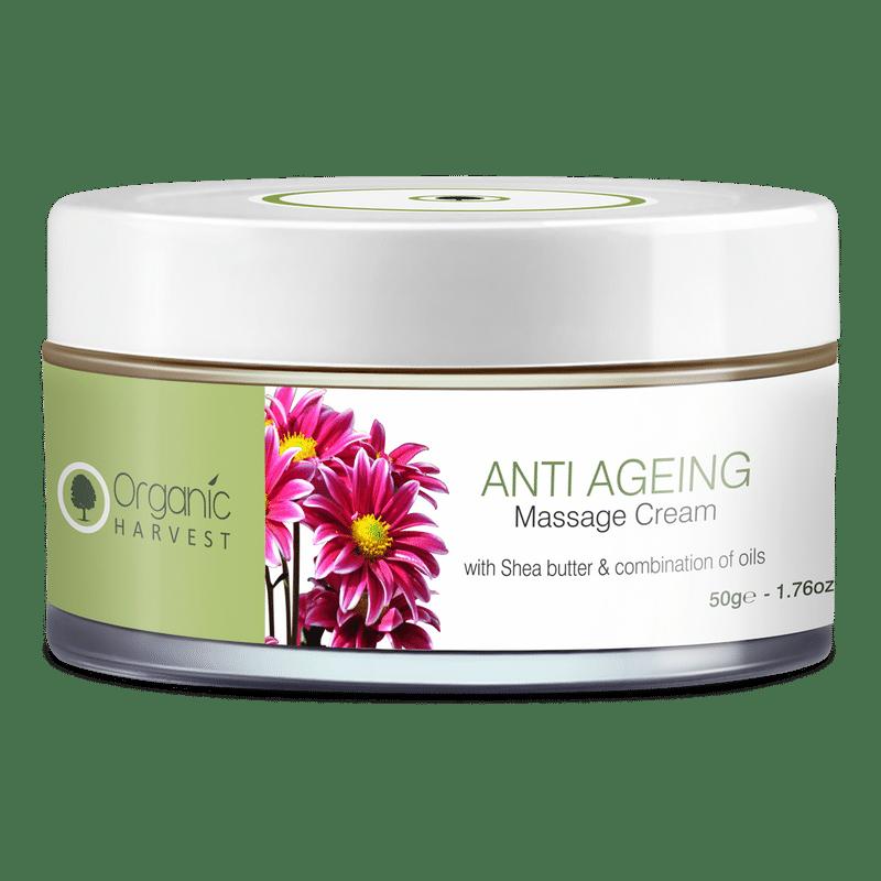 Organic Harvest Massage Cream - Anti Ageing