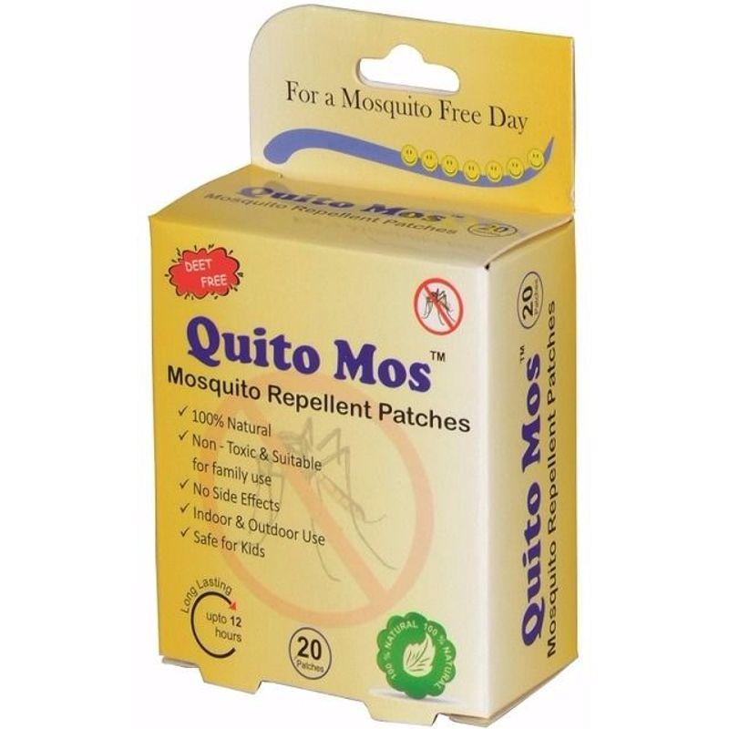 Quito Mos Mosquito Repellent - 20 Patches
