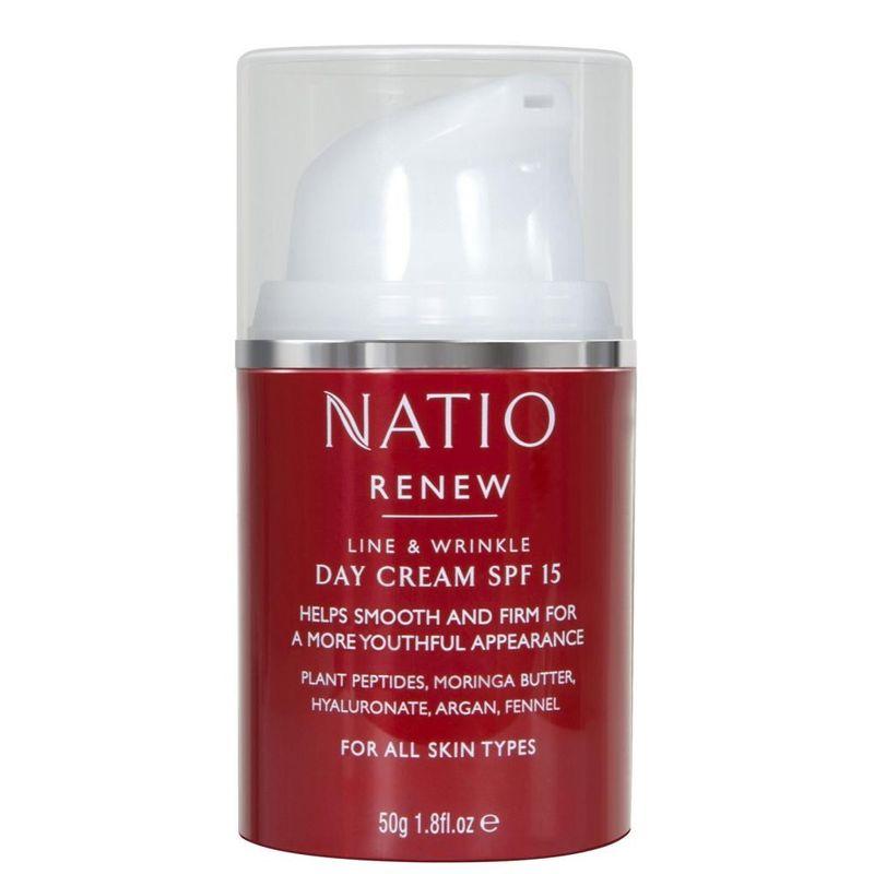 Natio Renew Line & Wrinkle Day Cream SPF 15