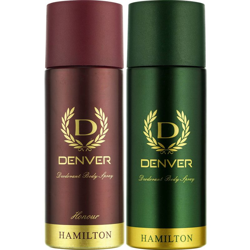 Denver Hamilton And Honour Deodorant Combo (Pack Of 2)