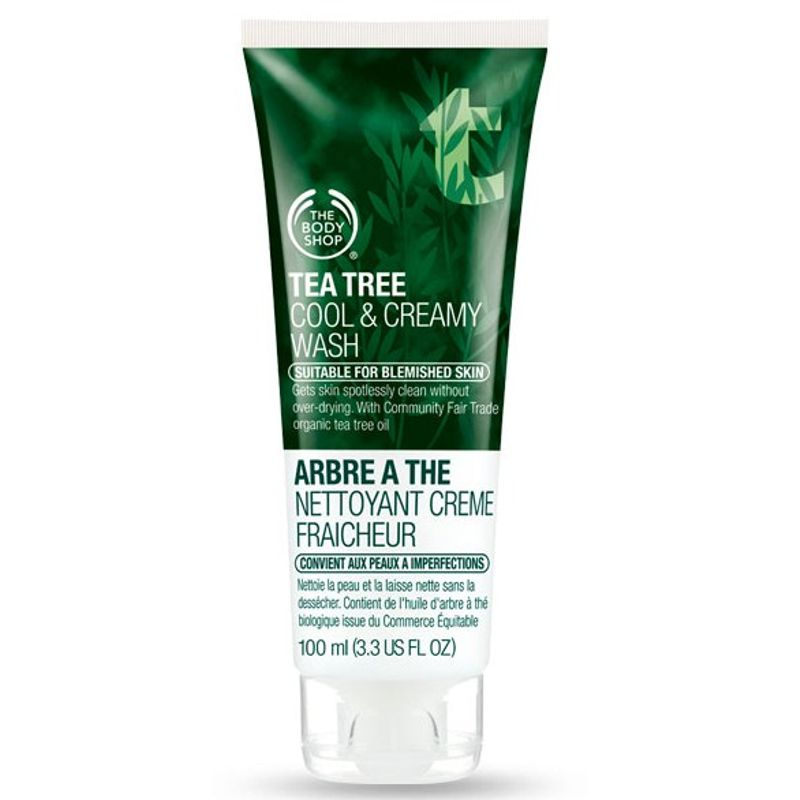 The Body Shop Tea Tree Cool & Creamy Face Wash
