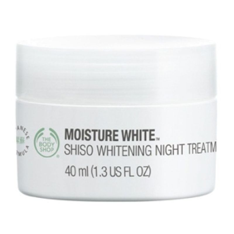 The Body Shop Moisture White Shiso Whitening Night Treatment