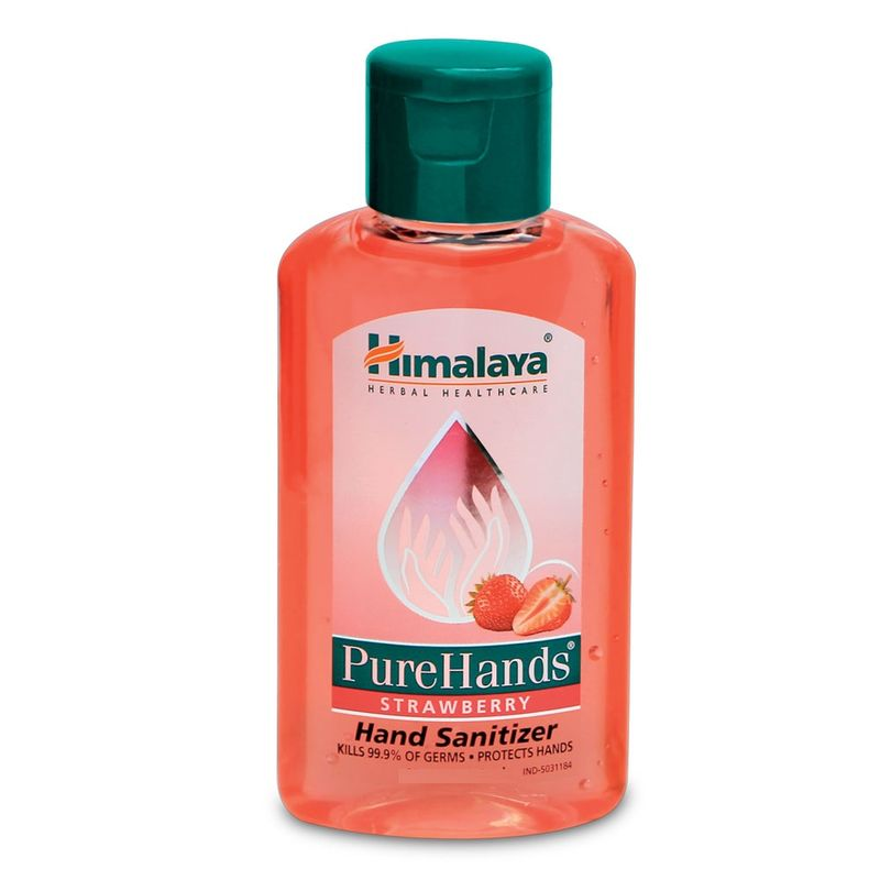 Himalaya Wellness PureHands Strawberry Hand Sanitizer