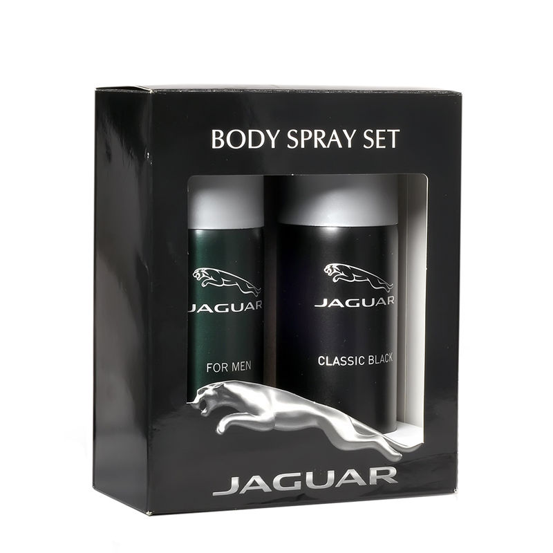 Jaguar Deo Pack Of 2 ( Classic Black, For Men)