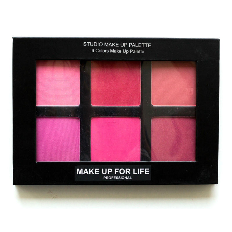 Make Up For Life 6 Colors Studio Makeup Palette