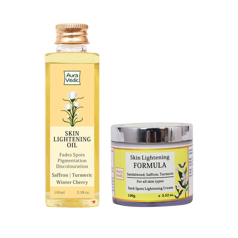 Auravedic Skin Lightening Oil + Formula