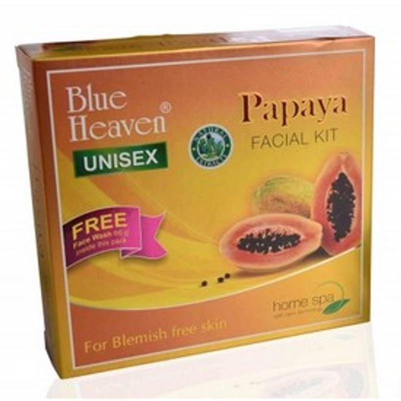 Blue Heaven Papaya Facial Kit Free Face Wash Inside This Pack