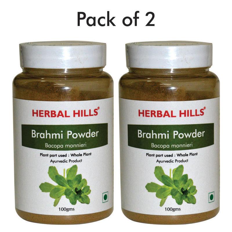 Herbal Hills Brahmi Powder - Pack Of 2
