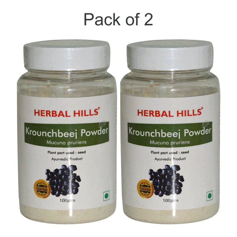 Herbal Hills Krounchbeej Powder - Pack Of 2