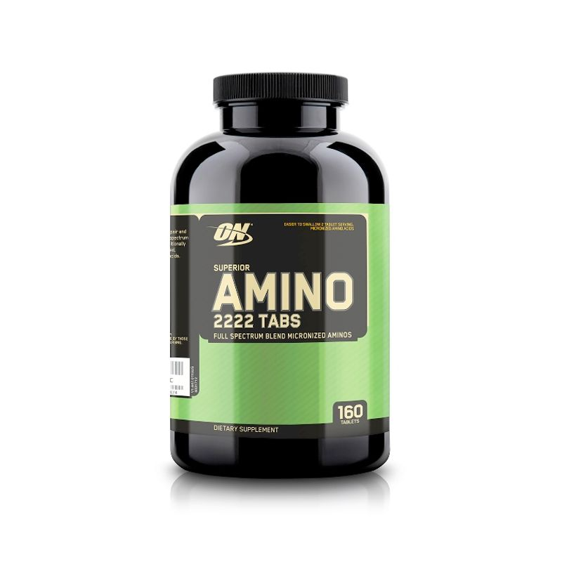 Optimum Nutrition (ON) Superior Amino 2222 Dietary Supplement Tablets