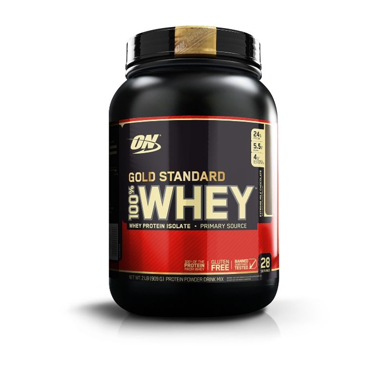 Optimum Nutrition (ON) 100% Whey Gold Standard Protein Powder (Extreme Milk Chocolate)