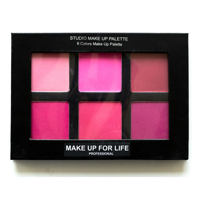 Make Up For Life 6 Colors Studio Makeup Palette - 01