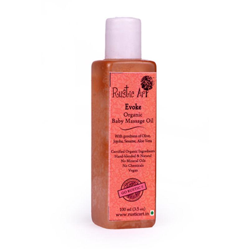 Rustic Art Organic Baby Oil - Evoke